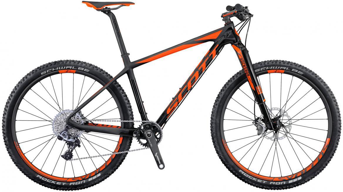 Велосипед горный Scott Scale 700 SL 2016, цвет: черный, рама 18, колесо 27,5264796