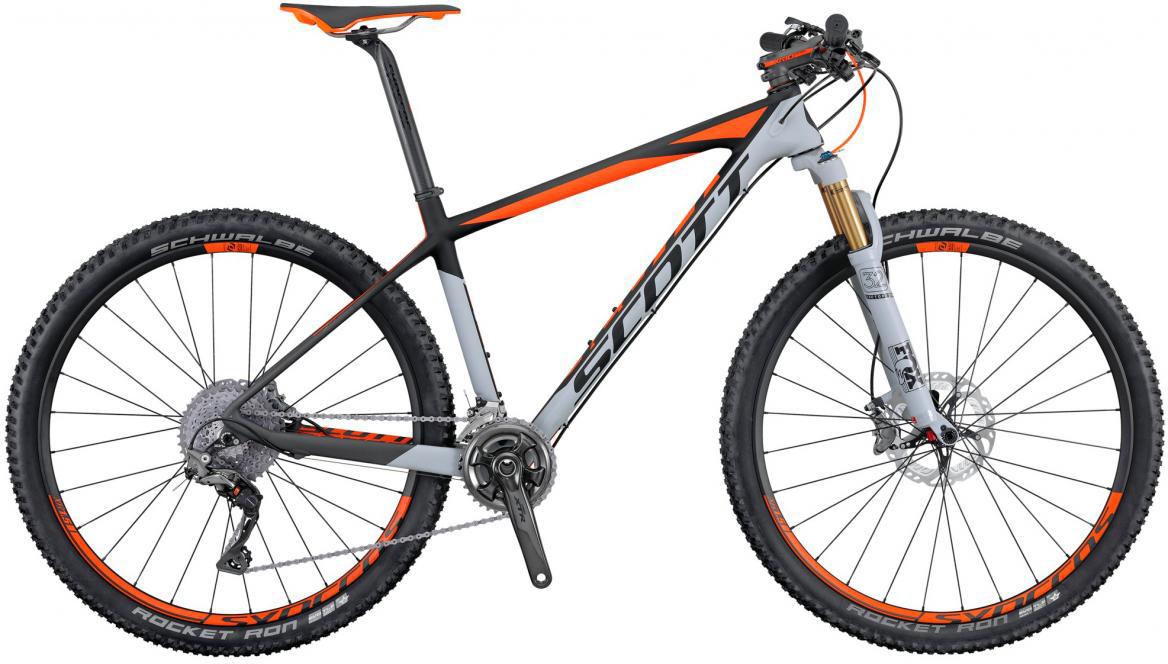 Велосипед горный Scott Scale 700 Premium 2016, цвет: серый, рама 18, колесо 27,5264800