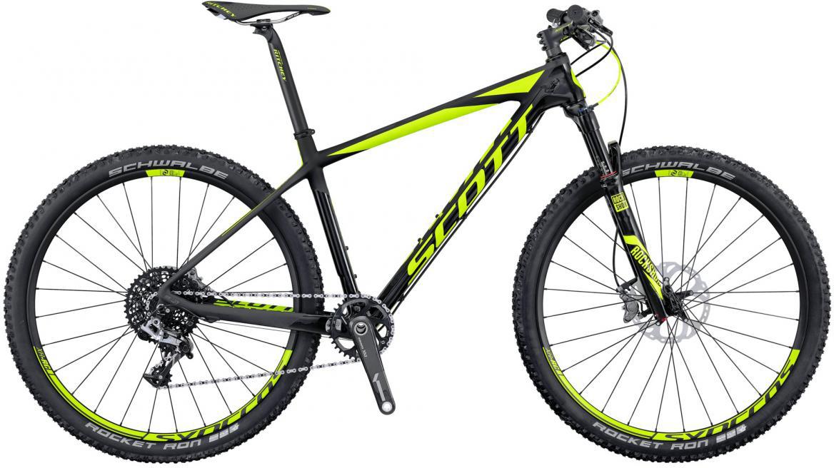 Велосипед горный Scott Scale 700 RC 2016, цвет: черный, рама 20, колесо 27,5264805