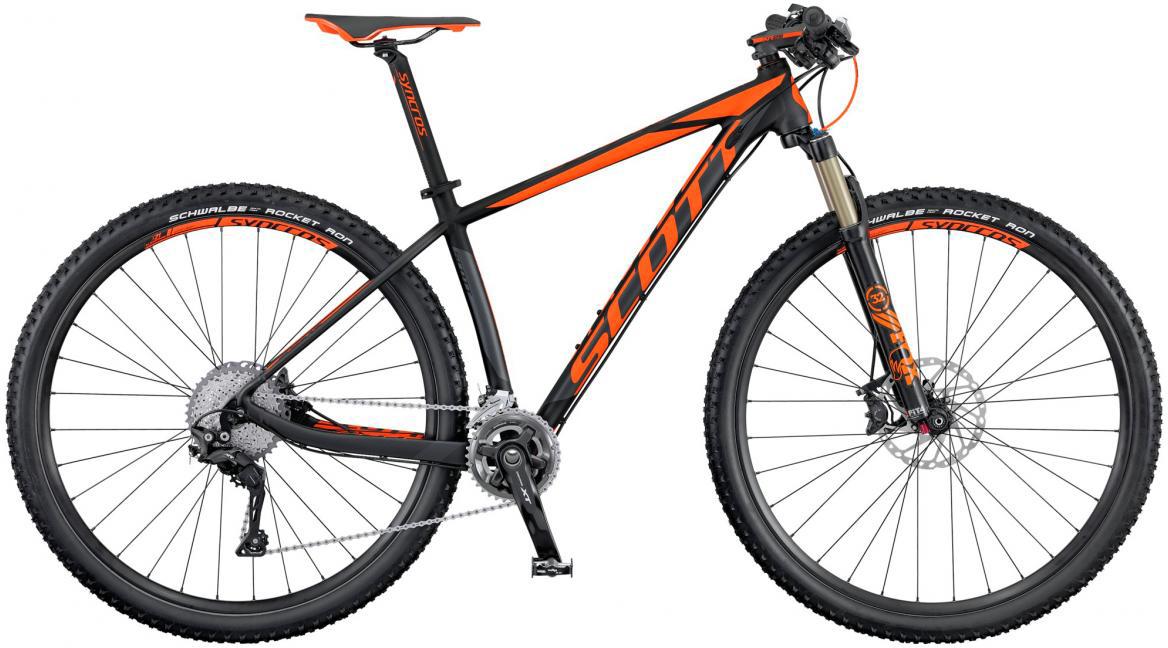 Велосипед горный Scott Scale 740 2016, цвет: черный, рама 18, колесо 27,5264823