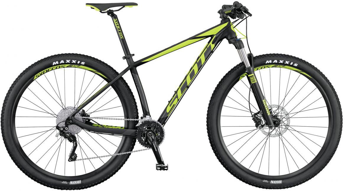 Велосипед горный Scott Scale 760 2016, цвет: черный, рама 14, колесо 27,5264835