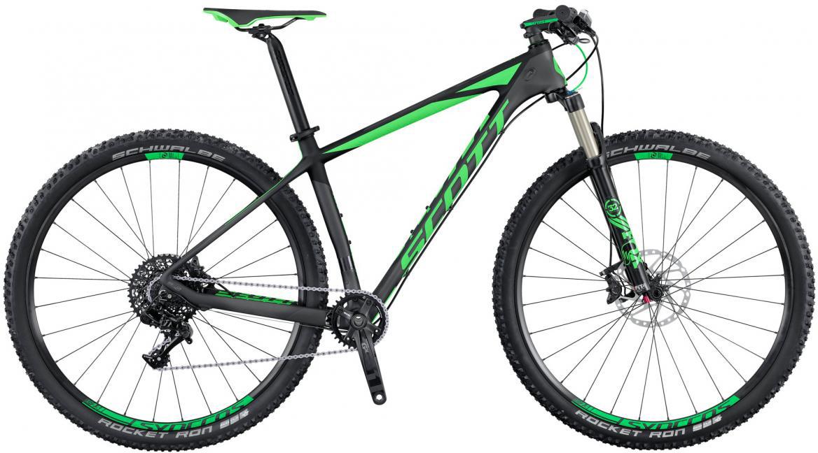 Велосипед горный Scott Scale 920 2016, цвет: зеленый, рама 22, колесо 29264864