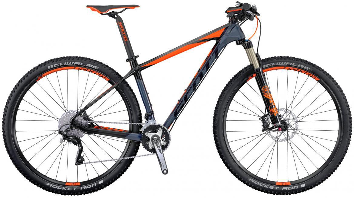 Велосипед горный Scott Scale 930 2016, цвет: серый, рама 18, колесо 29264866