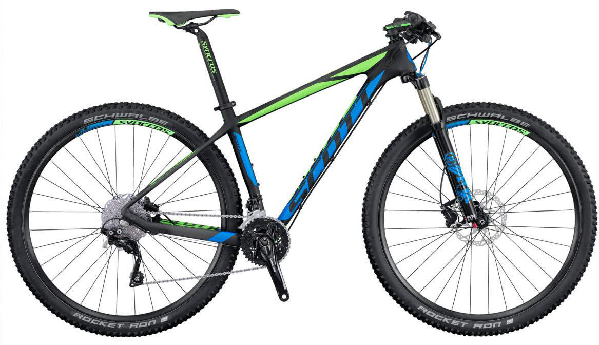 Велосипед горный Scott Scale 935 2016, цвет: черный, рама 16, колесо 29. 264870264870