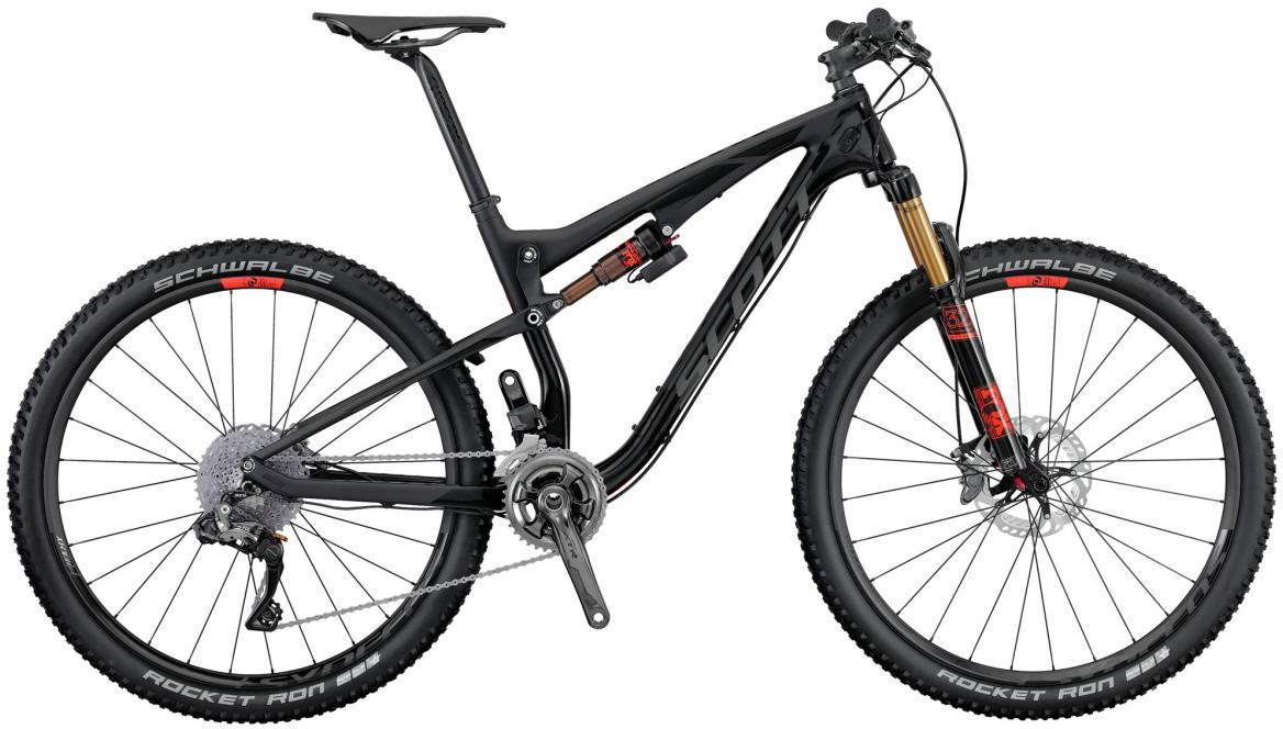 Велосипед горный Scott Spark 700 Ultimate 2016, двухподвесный, цвет: черный, рама 16, колесо 27,5264917