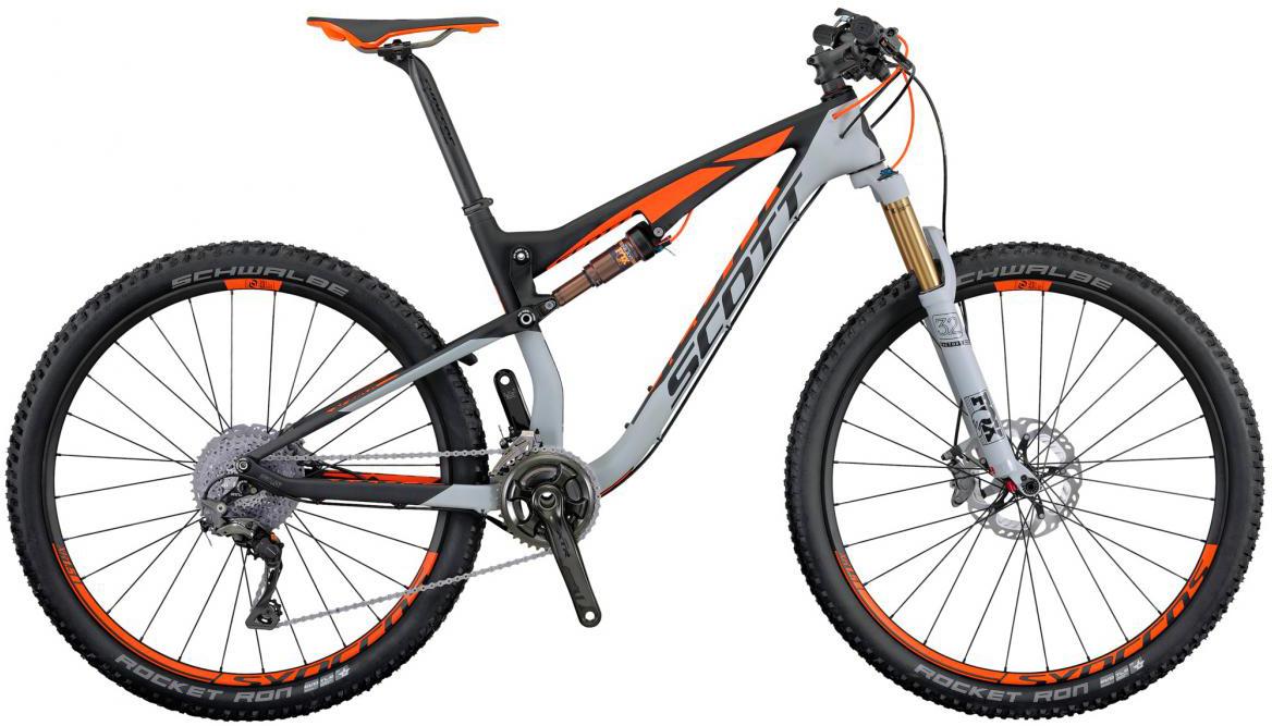 Велосипед горный Scott Spark 700 Premium 2016, двухподвесный, цвет: серый, рама 22, колесо 27,5264924