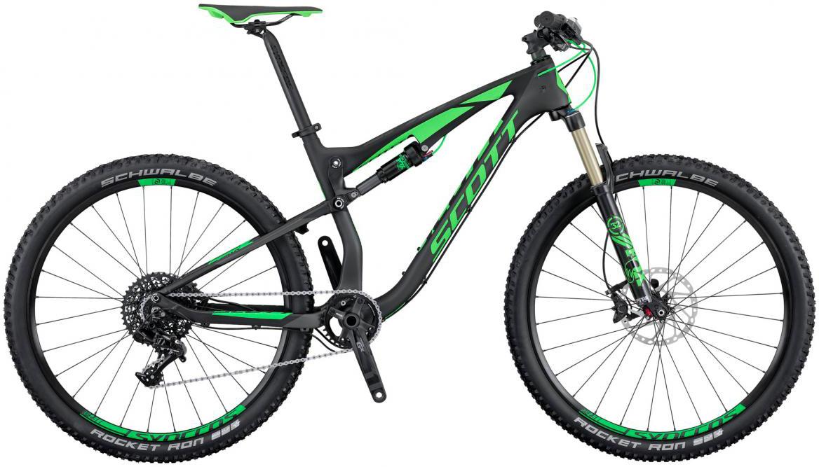 Велосипед горный Scott Spark 720 2016, двухподвесный, цвет: черный, рама 18, колесо 27,5264934