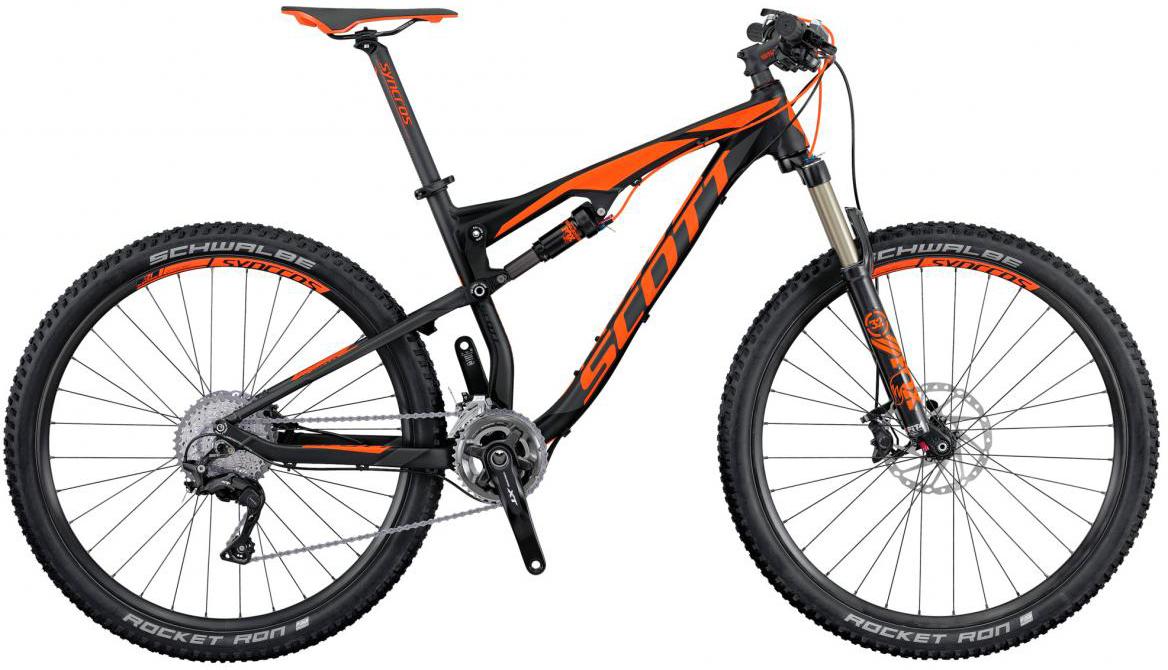 Велосипед горный Scott Spark 740 2016, двухподвесный, цвет: оранжевый, рама 16, колесо 27,5264941
