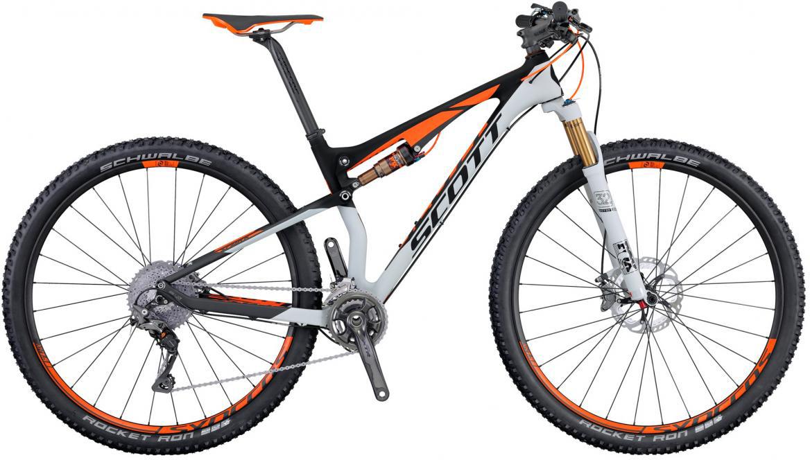 Велосипед горный Scott Spark 900 Premium 2016, двухподвесный, цвет: серый, рама 20, колесо 29264955