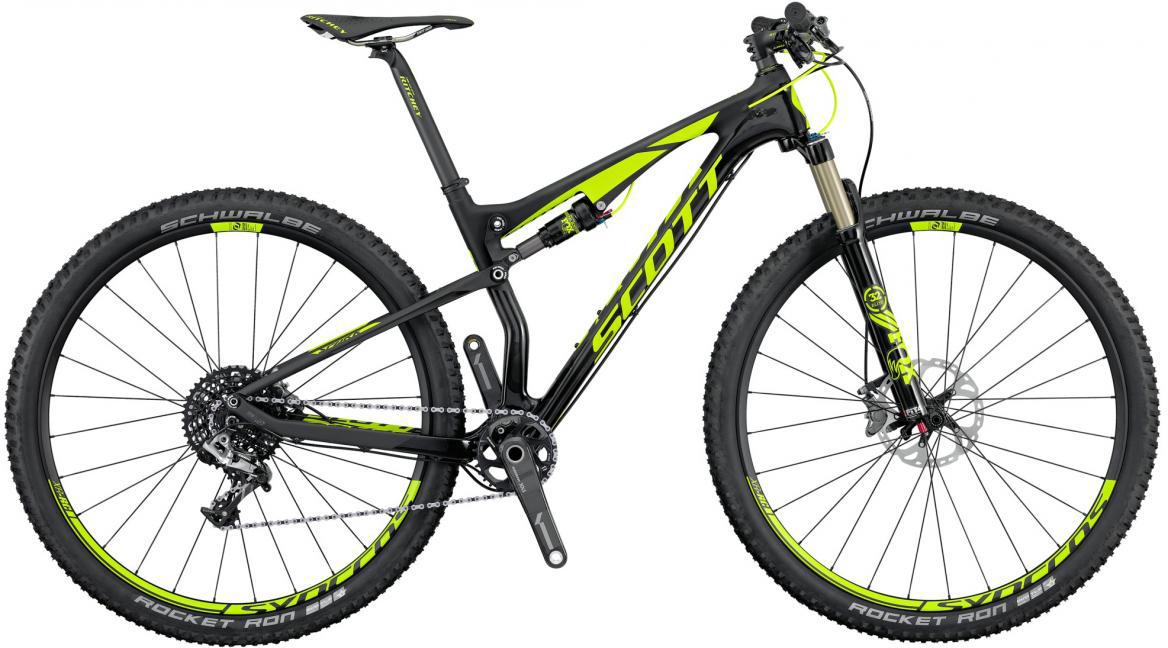 Велосипед горный Scott Spark 900 RC 2016, двухподвесный, цвет: черный, рама 22, колесо 29264960