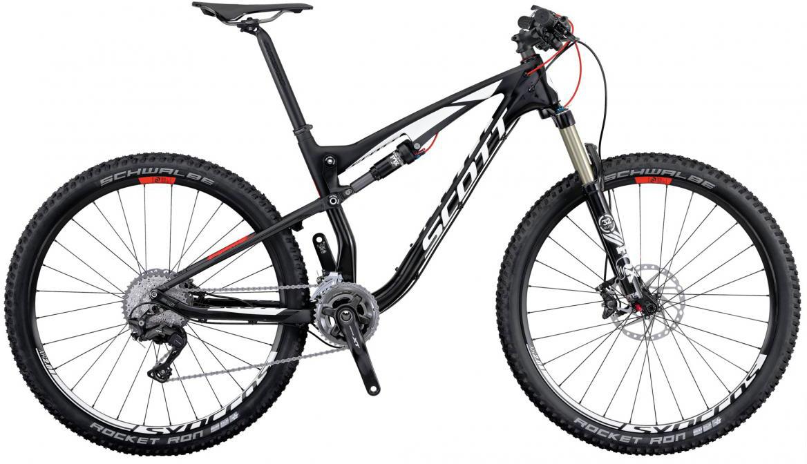 Велосипед горный Scott Spark 910 2016, двухподвесный, цвет: черный, рама 16, колесо 29264961