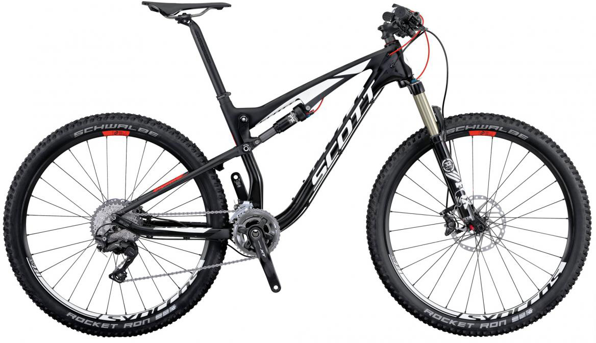 Велосипед горный Scott Spark 910 2016, двухподвесный, цвет: черный, рама 22, колесо 29264964
