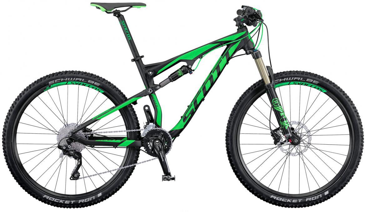 Велосипед горный Scott Spark 950 2016, двухподвесный, цвет: зеленый, рама 20, колесо 29264988