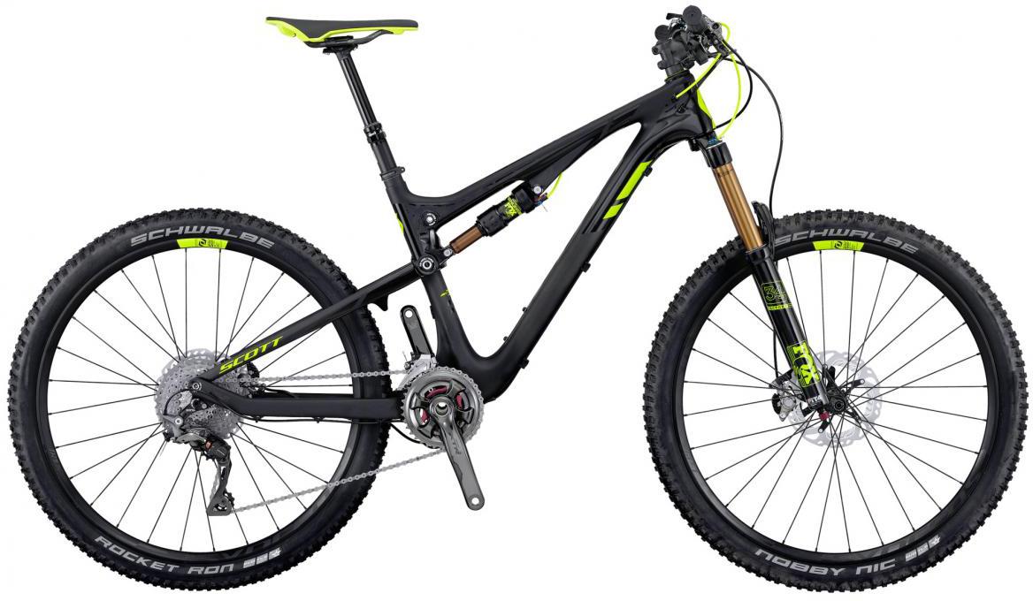 Велосипед горный Scott Genius 700 Premium 2016, двухподвесный, цвет: черный, рама 22, колесо 27,5265013