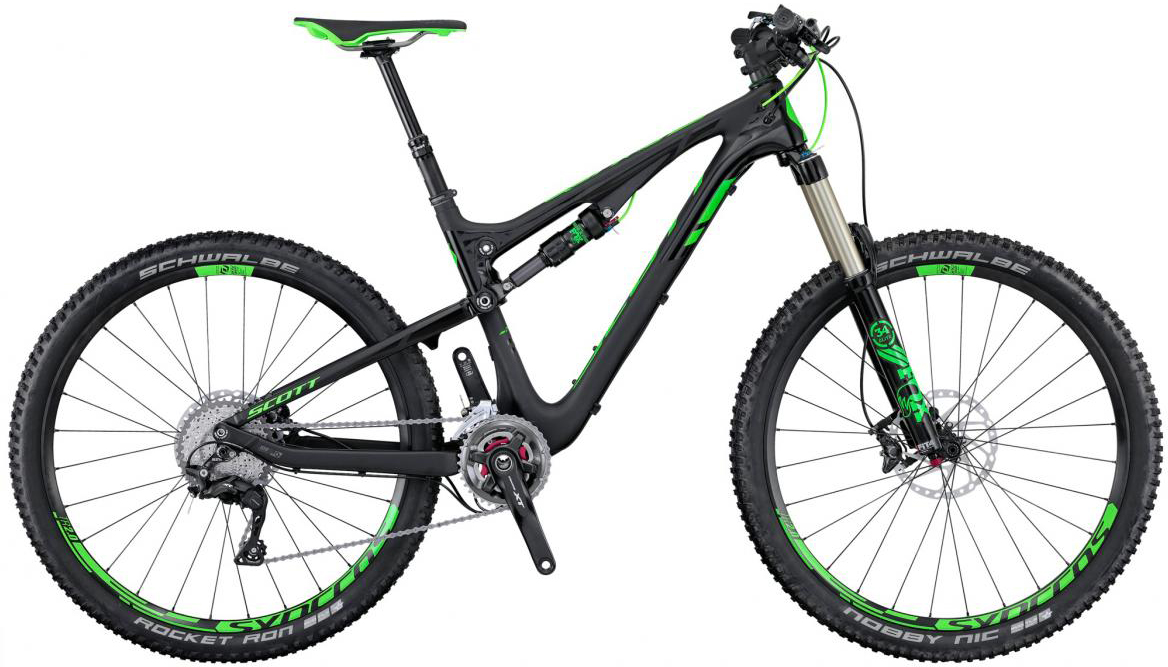 Велосипед горный Scott Genius 910 2016, двухподвесный, цвет: черный, рама 18, колесо 29265019