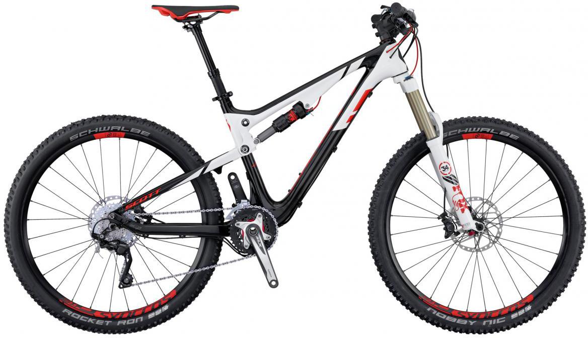 Велосипед горный Scott Genius 920 2016, двухподвесный, цвет: белый, рама 20, колесо 29265024