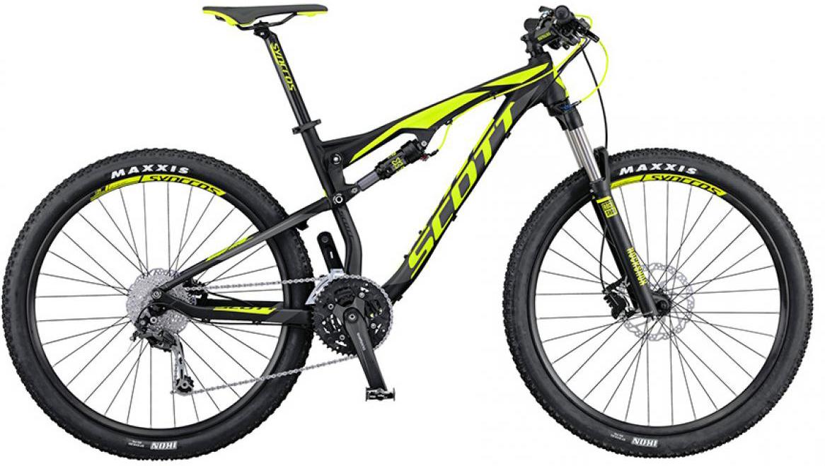 Велосипед горный Scott Spark 760 2016, двухподвесный, цвет: черный, рама 22, колесо 27,5265067