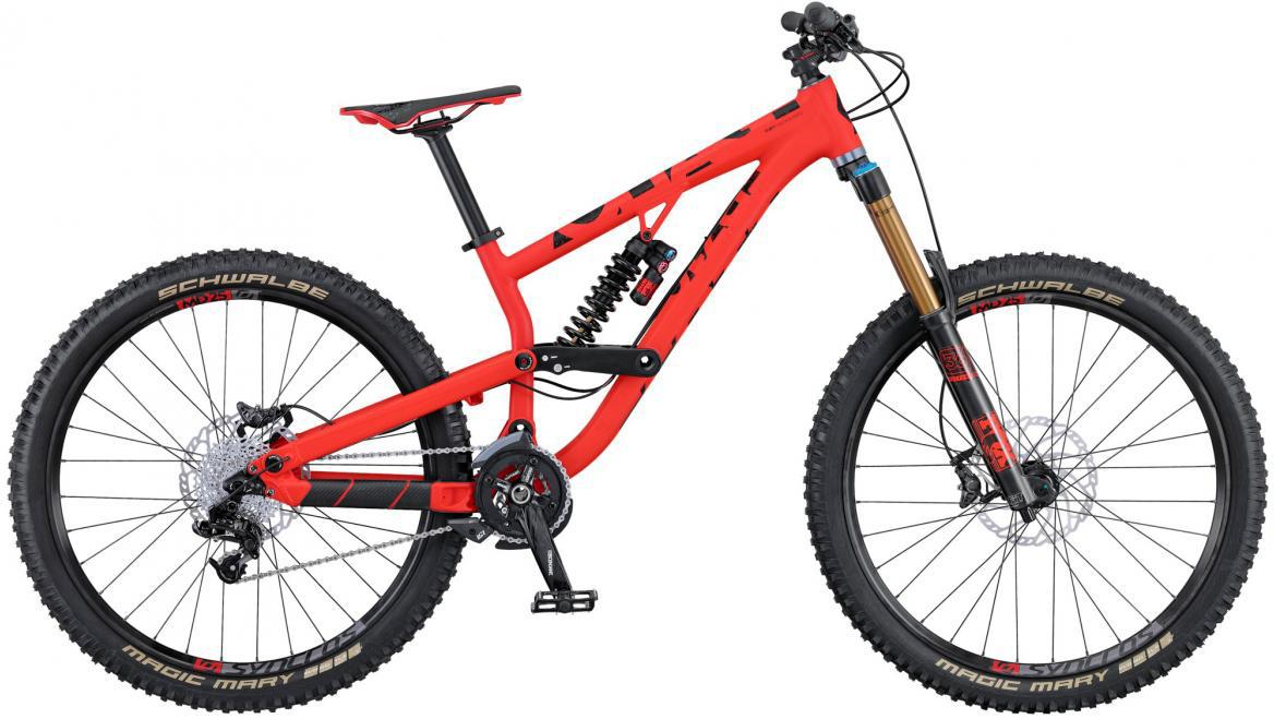 Велосипед горный Scott Voltage FR 710 2016, двухподвесный, цвет: красный, рама 20, колесо 27,5265085