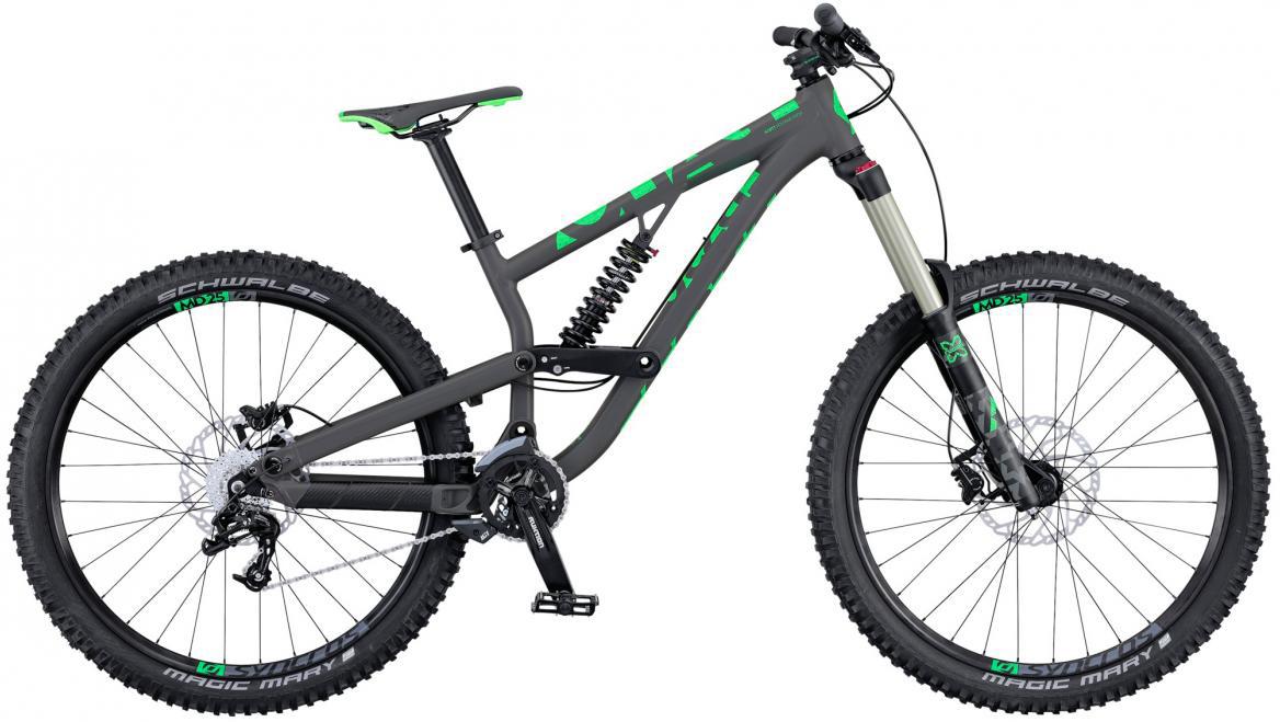 Велосипед горный Scott Voltage FR 730 2016, двухподвесный, цвет: серый, рама 20, колесо 27,5265091