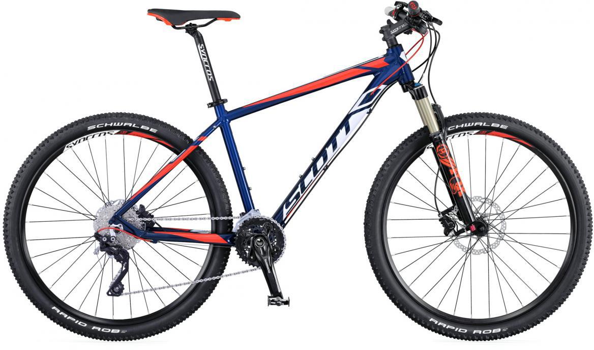 Велосипед горный Scott Aspect 700 2016, цвет: синий, рама 20, колесо 27,5265105