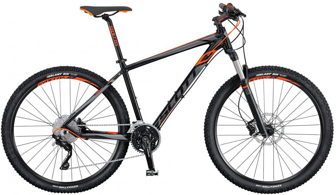 Велосипед горный Scott Aspect 710 2016, цвет: серый, рама 14, колесо 27,5265107