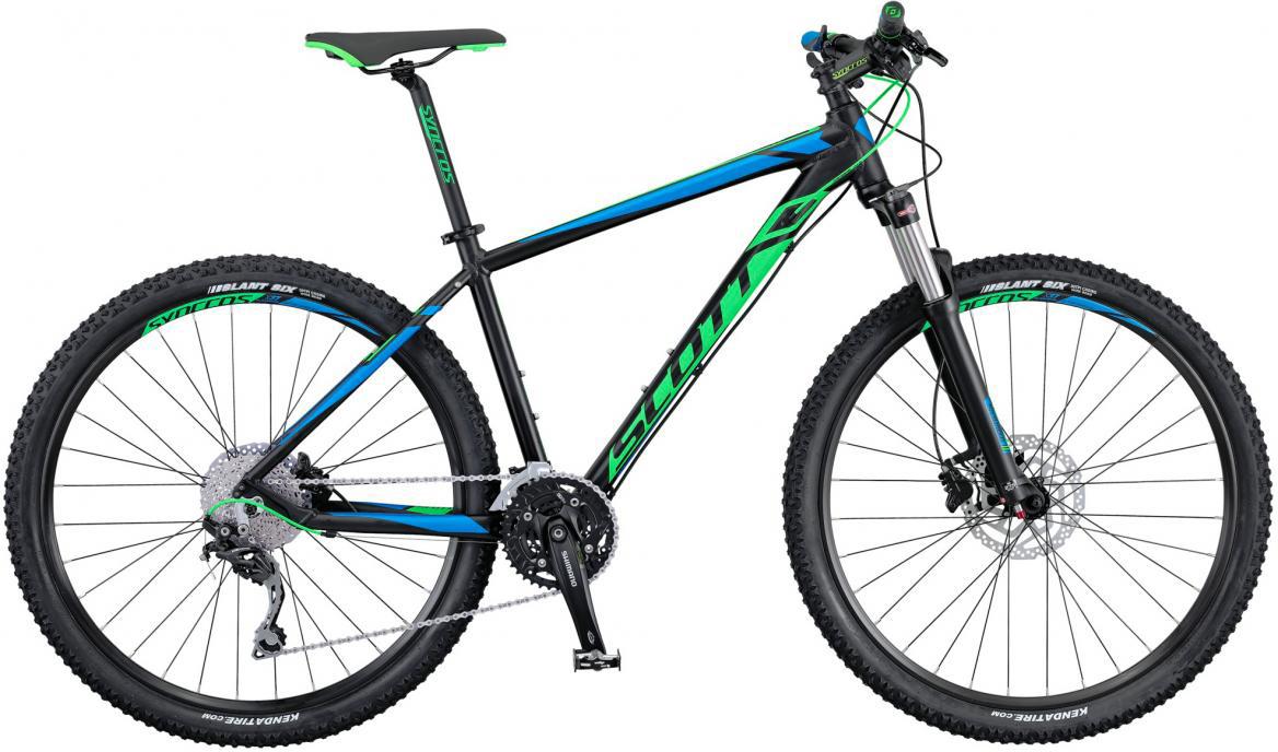 Велосипед горный Scott Aspect 720 2016, цвет: черный, рама 16, колесо 27,5265148