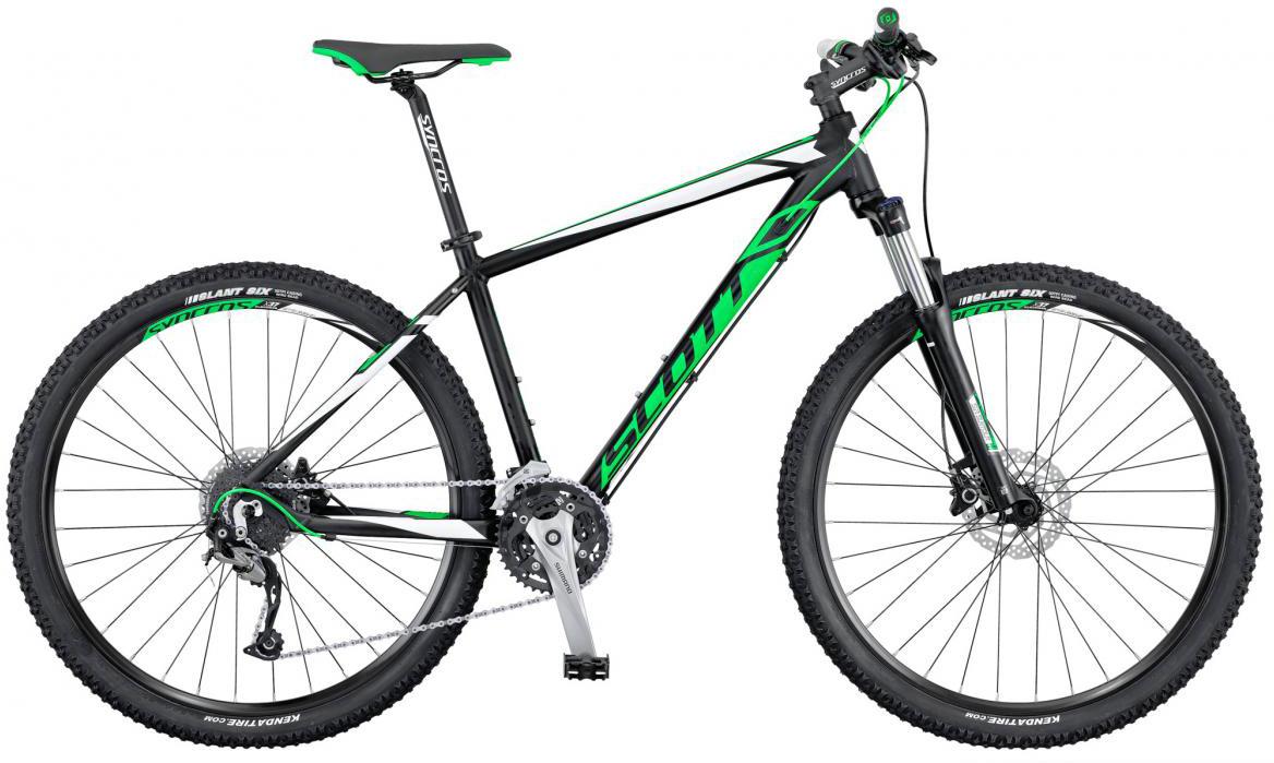 Велосипед горный Scott Aspect 740 2016, цвет: зеленый, рама 18, колесо 27,5265163