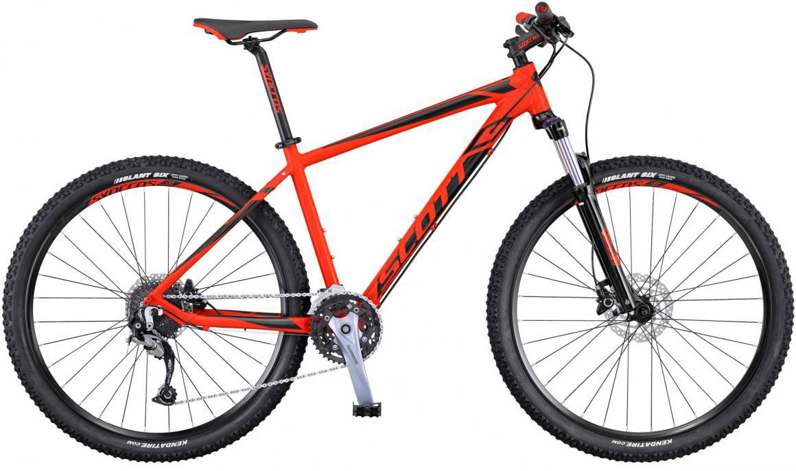 Велосипед горный Scott Aspect 740 2016, цвет: красный, рама 14, колесо 27,5265166
