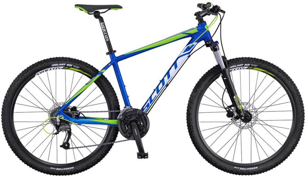 Велосипед горный Scott Aspect 750 2016, цвет: синий, рама 14, колесо 27,5265171