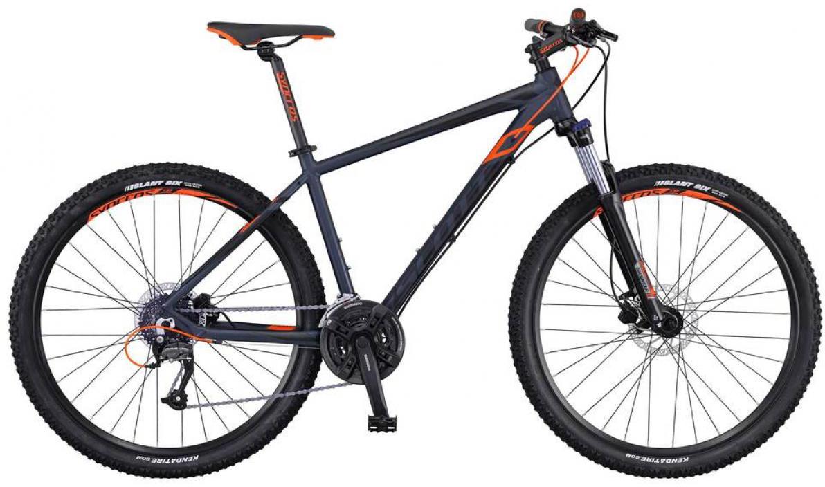 Велосипед горный Scott Aspect 750 2016, цвет: серый, рама 14, колесо 27,5265189