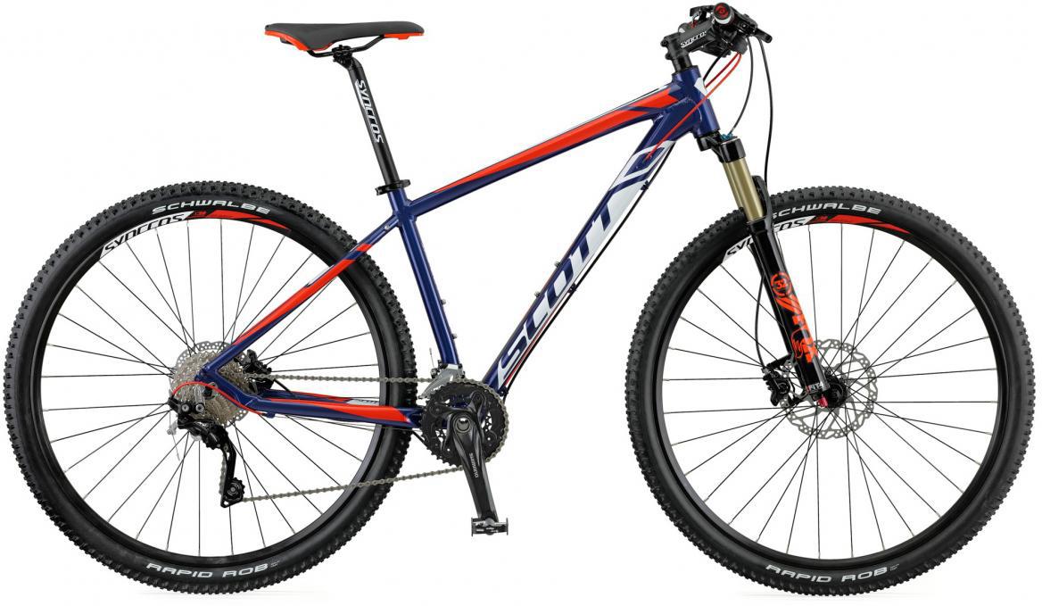 Велосипед горный Scott Aspect 900 2016, цвет: синий, рама 24, колесо 29265204