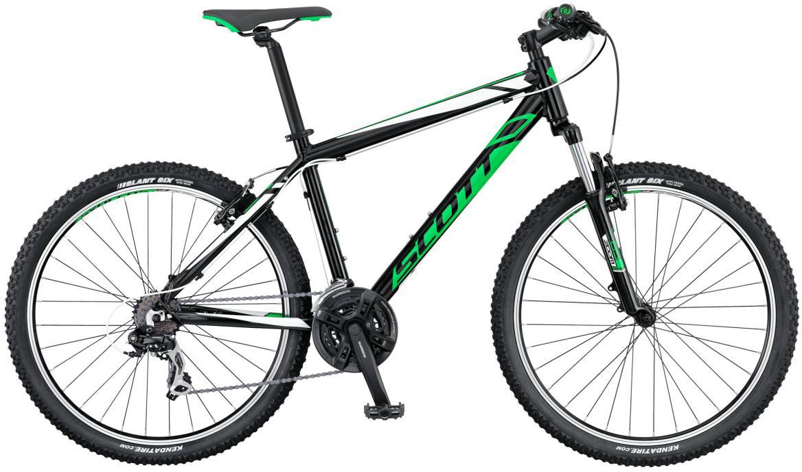 Велосипед горный Scott Aspect 670 2016, цвет: черный, рама 14, колесо 26265254