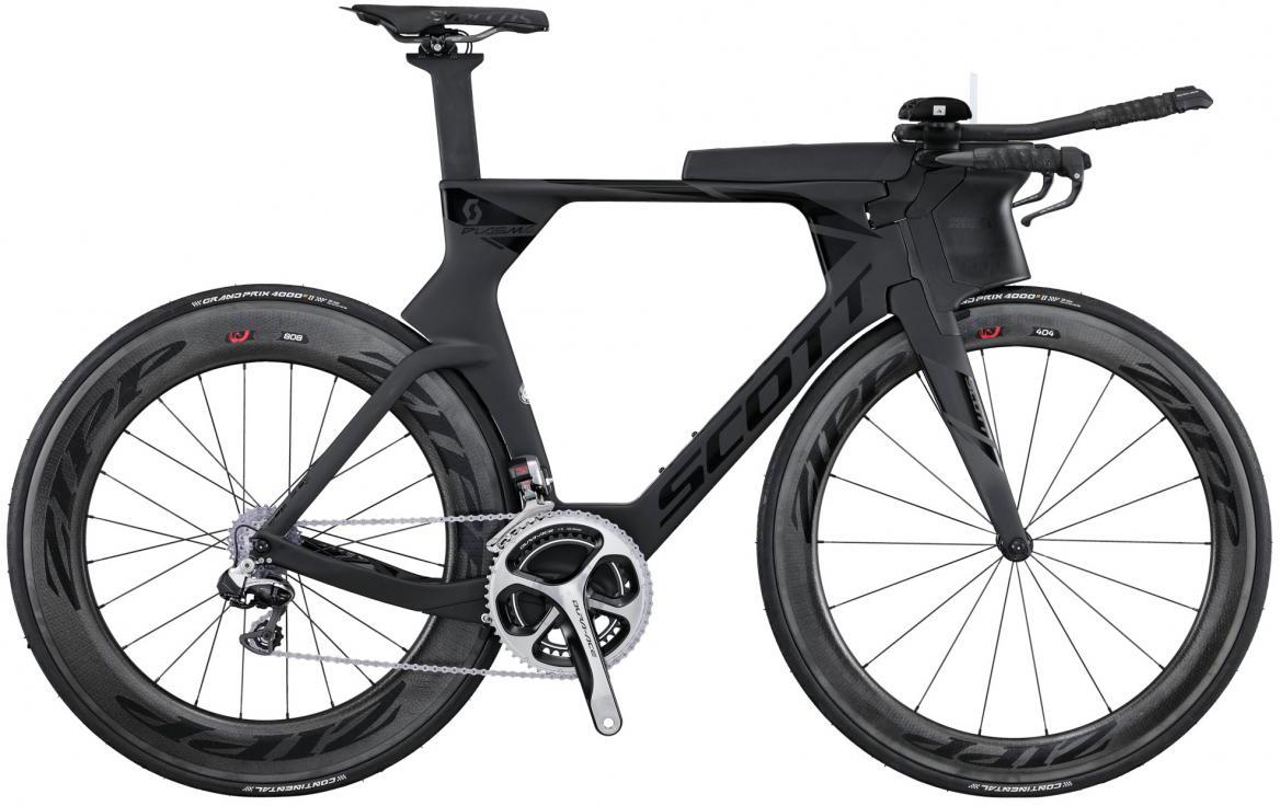 Велосипед шоссейный Scott Plasma Premium 2016, цвет: черный, рама 22, колесо 28265261