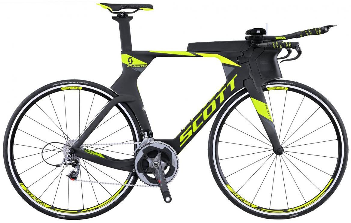 Велосипед шоссейный Scott Plasma Team Issue 2016, цвет: черный, рама 21, колесо 28265264