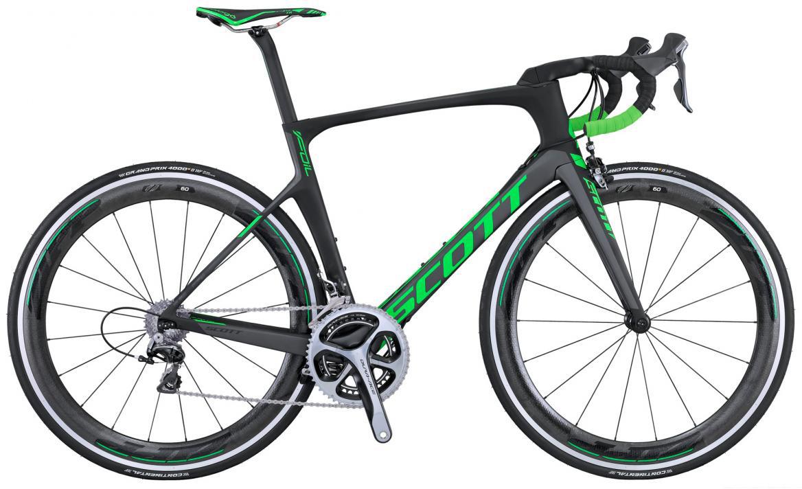 Велосипед шоссейный Scott Foil Team Issue 2016, цвет: черный, рама 18,5, колесо 28265282