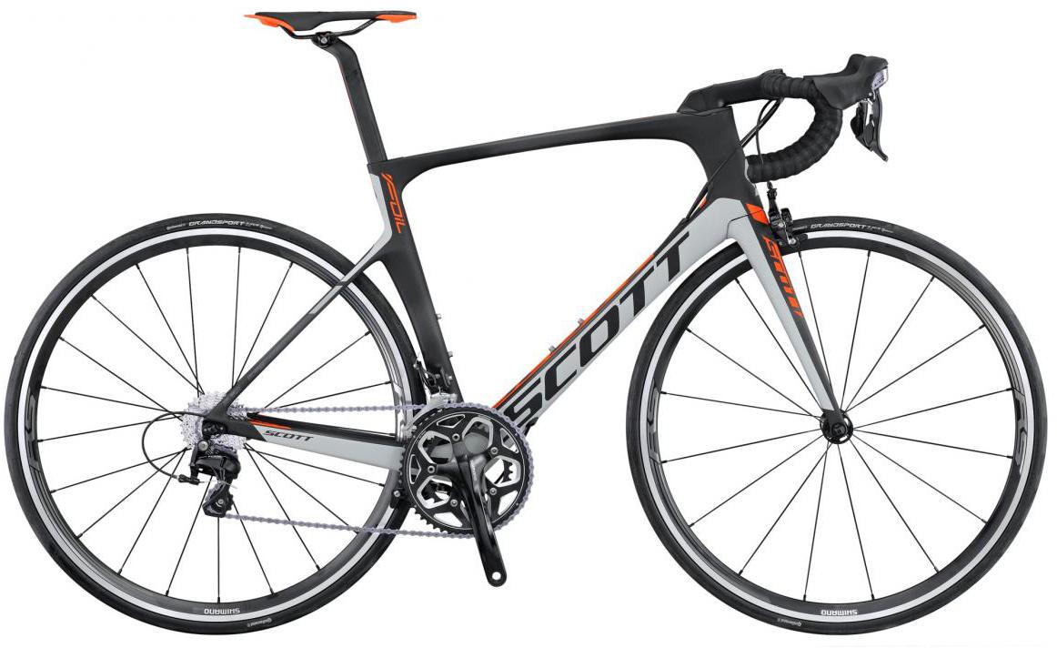 Велосипед шоссейный Scott Foil 30 2016, цвет: серый, рама 19,5, колесо 28265304