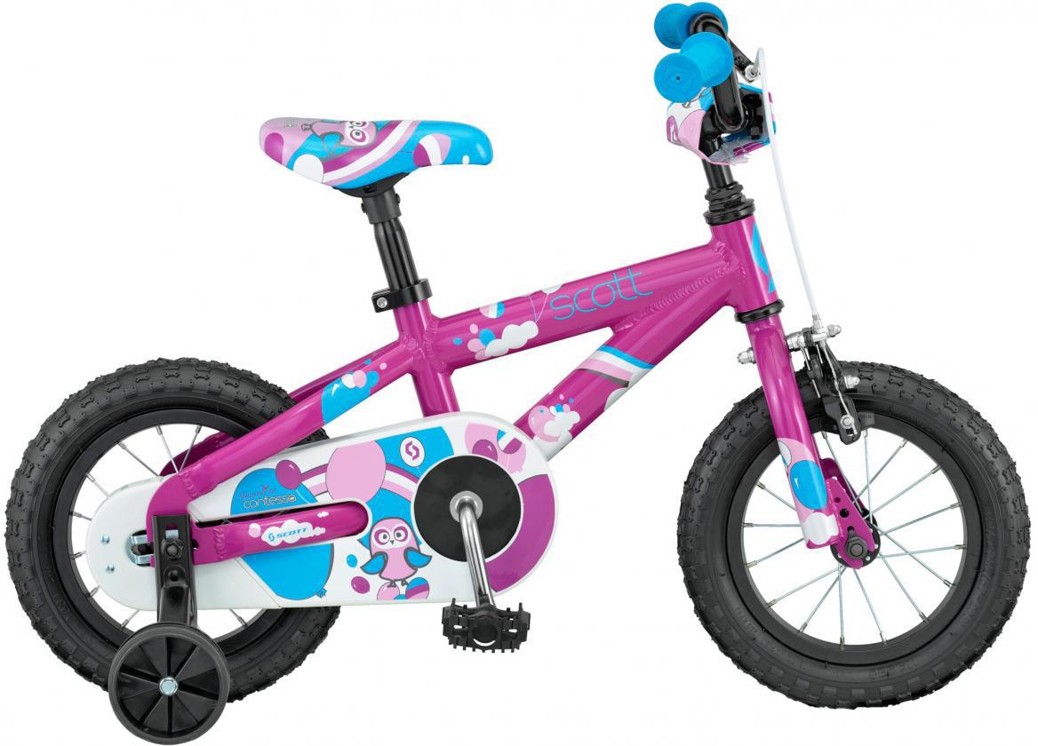 Велосипед детский Scott Contessa JR 2016, цвет: фиолетовый, рама , колесо 12265371