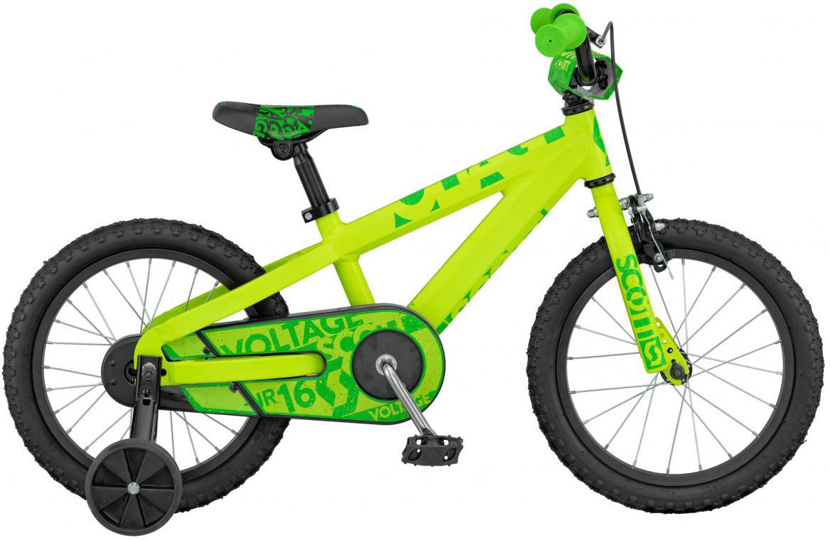Велосипед детский Scott Voltage Junior 2016, цвет: зеленый, рама , колесо 16265406