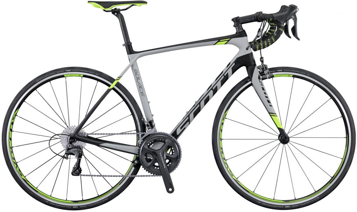Велосипед шоссейный Scott Solace 10 2016, цвет: серый, рама 23,5, колесо 28265410
