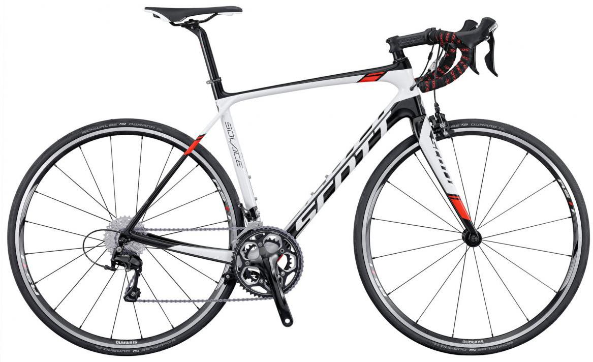 Велосипед шоссейный Scott Solace 20 2016, цвет: белый, рама 21, колесо 28265428