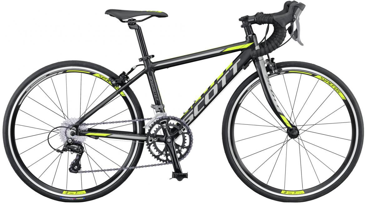 Велосипед детский Scott Speedster JR 2016, цвет: черный, рама , колесо 24265433