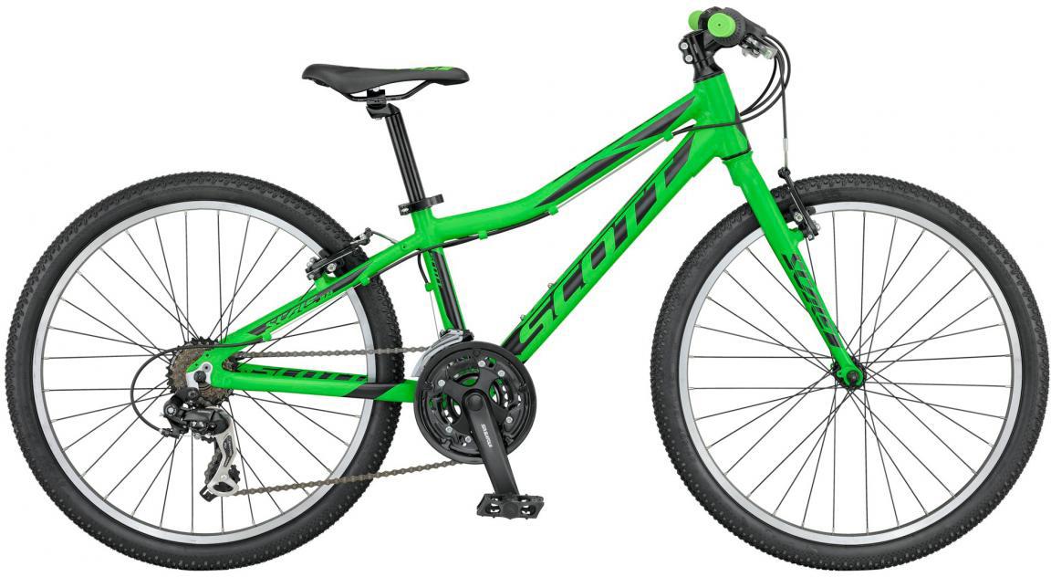Велосипед детский Scott Scale JR Rigid Fork 2016, цвет: зеленый, рама , колесо 24265445