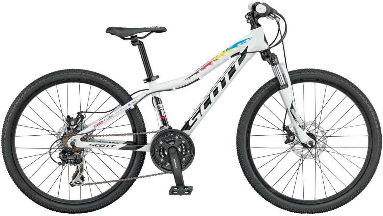 Велосипед детский Scott Scale JR Disc 2016, цвет: белый, рама , колесо 24265449