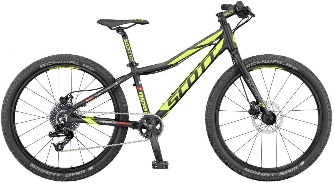 Велосипед детский Scott Scale RC JR 2016, цвет: черный, рама , колесо 24265453