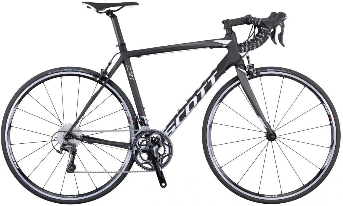 Велосипед шоссейный Scott CR1 10 2016, цвет: черный, рама 21, колесо 28265456