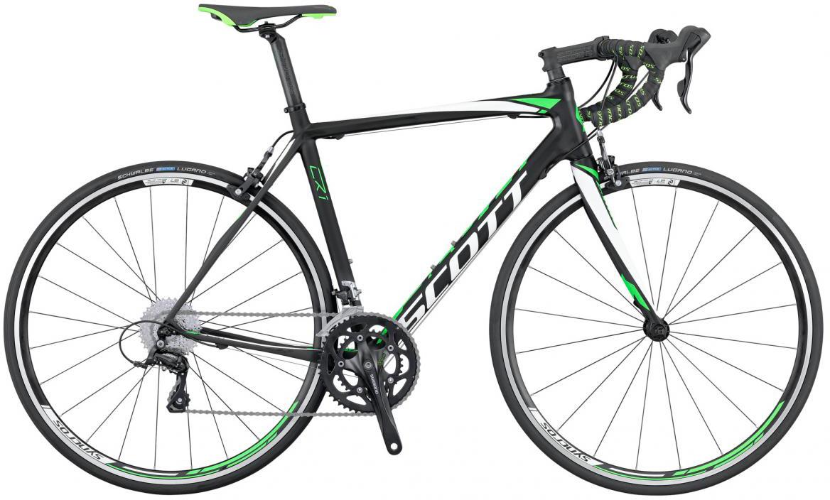 Велосипед шоссейный Scott CR1 30 2016, цвет: черный, рама 19,5, колесо 28265490