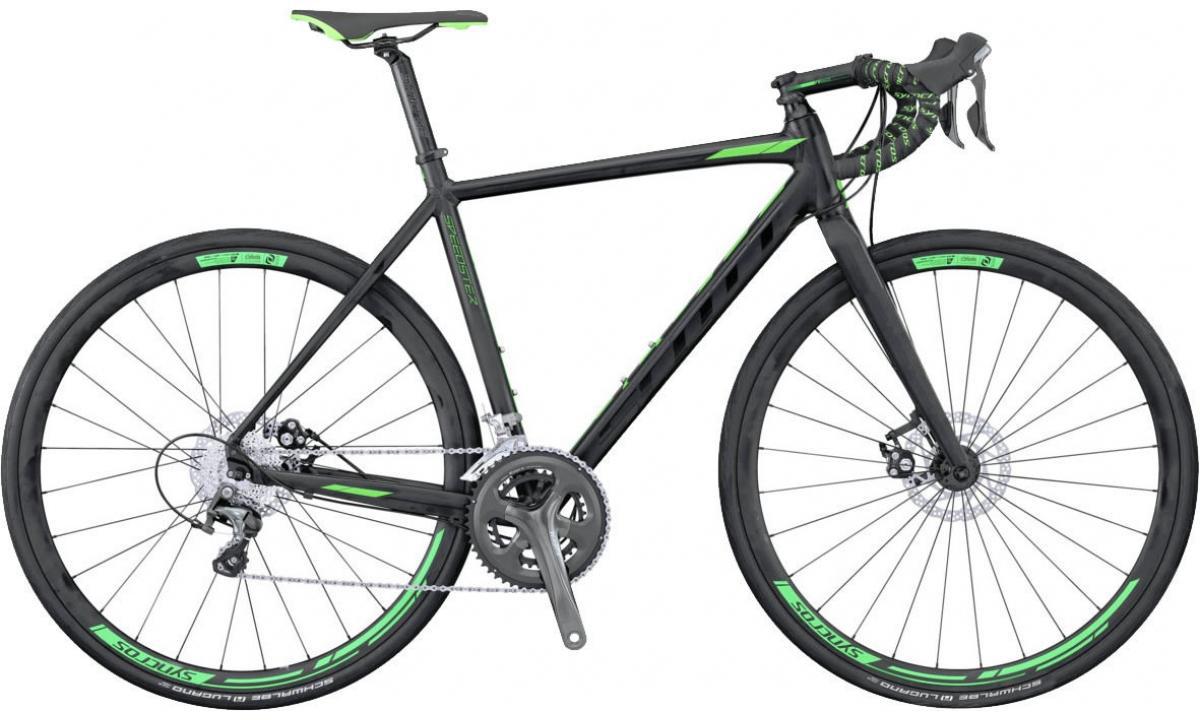Велосипед шоссейный Scott Speedster 30 Disc 2016, цвет: черный, рама 20,5, колесо 28265507