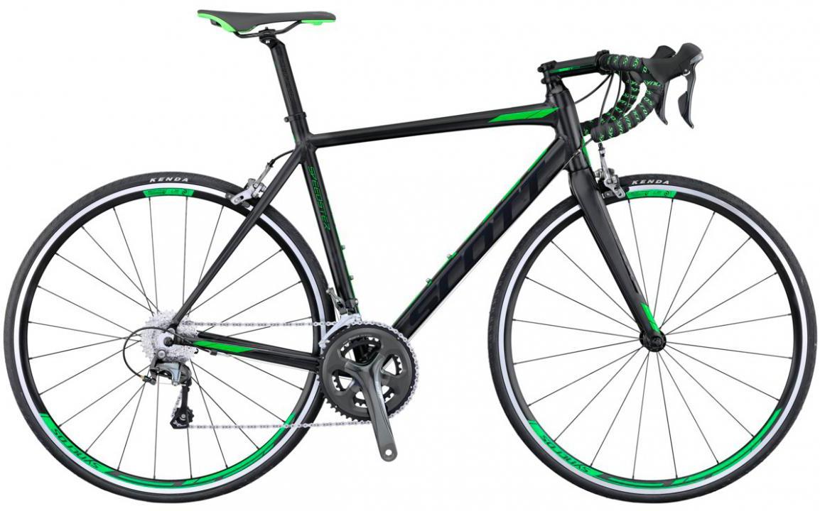 Велосипед шоссейный Scott Speedster 30 2016, цвет: черный, рама 19,5, колесо 28265522