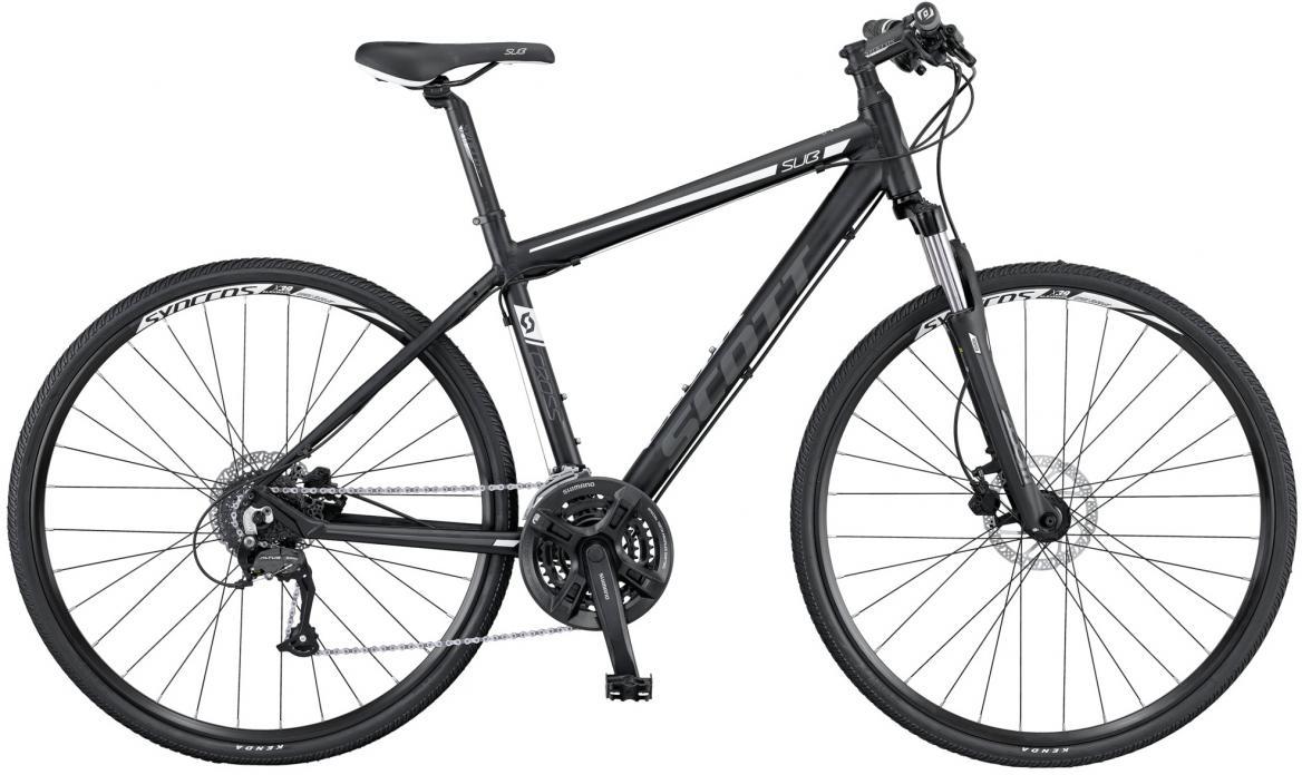 Велосипед городской Scott Sub Cross 50 Men 2016, цвет: серый, рама 24, колесо 28265538