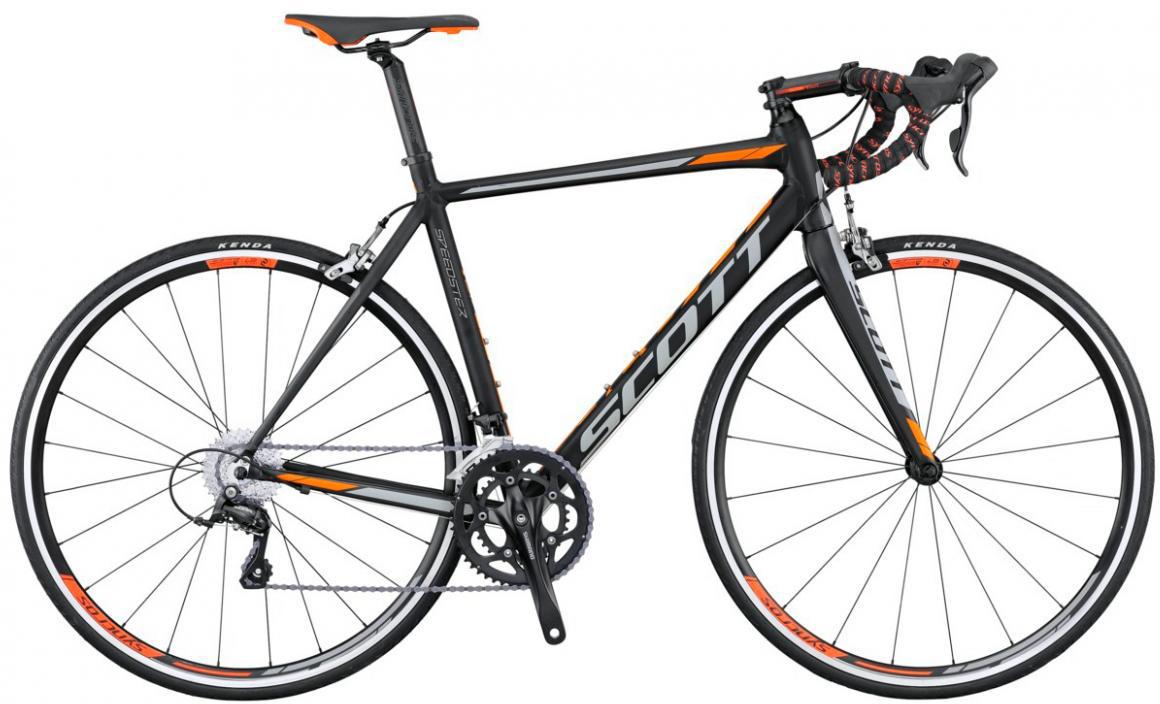 Велосипед шоссейный Scott Speedster 40 2016, цвет: черный, рама 23, колесо 28265556
